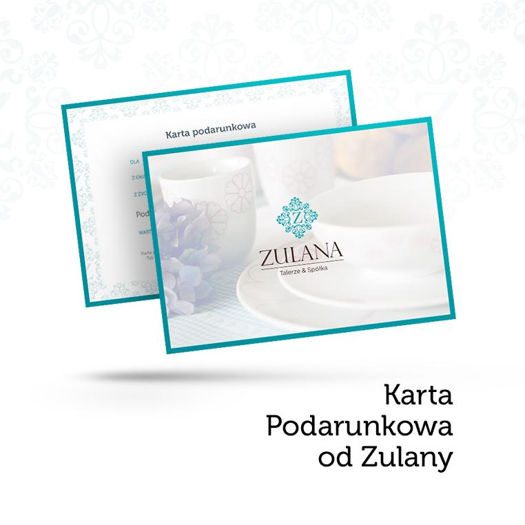 Karta prezentowa Zulany